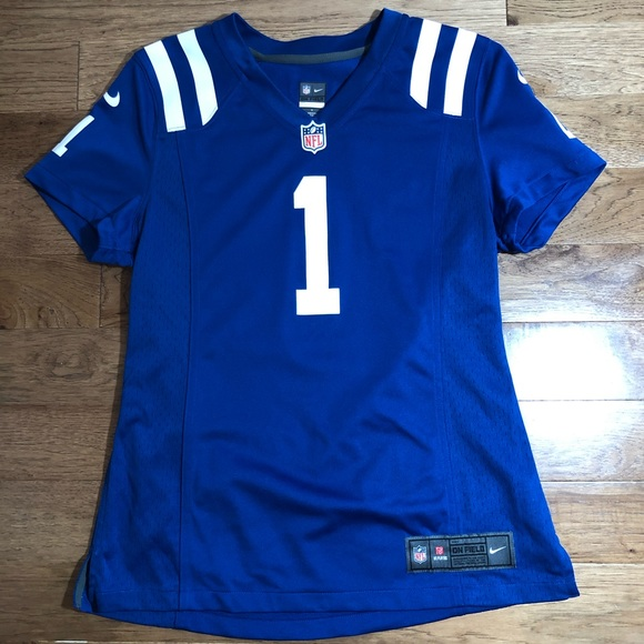 quality design 6516b 0dfee Nike On Field Pat McAfee Colts Jersey